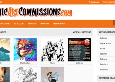 Comic Art Commissions
